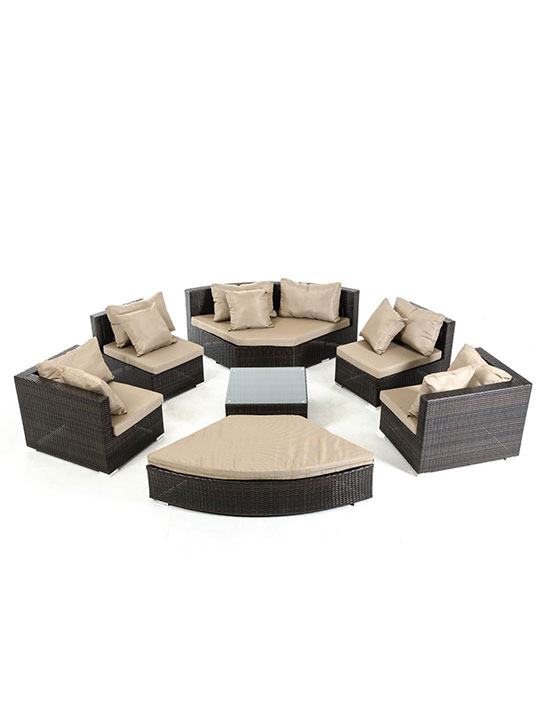 Madrid 7 Piece Outdoor Set