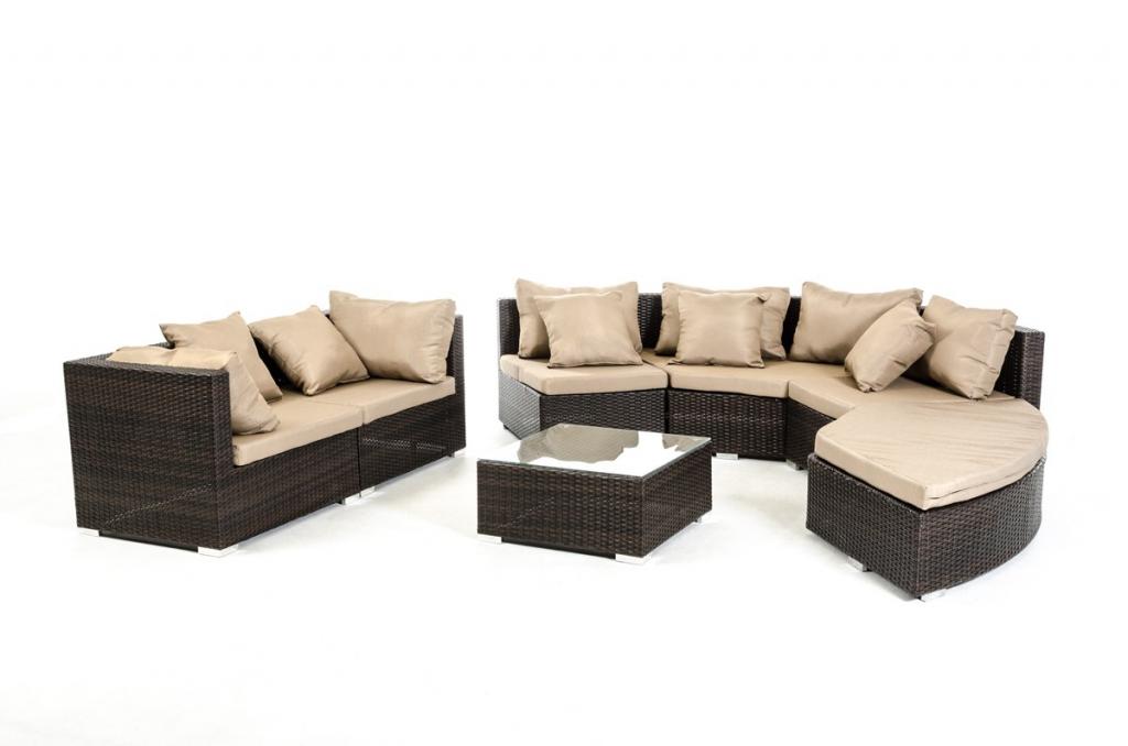 Madrid 7 piece outdoor furniture set