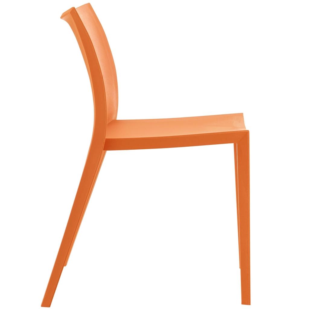 Orange Cove Plastic Chair