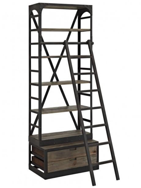 Reclaimed Wood Shelving Unit  461x614