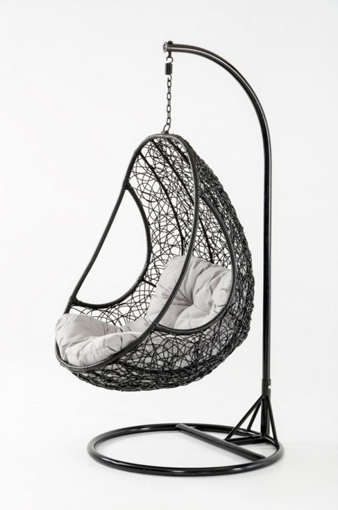 Rest Nest Black Hanging Chair
