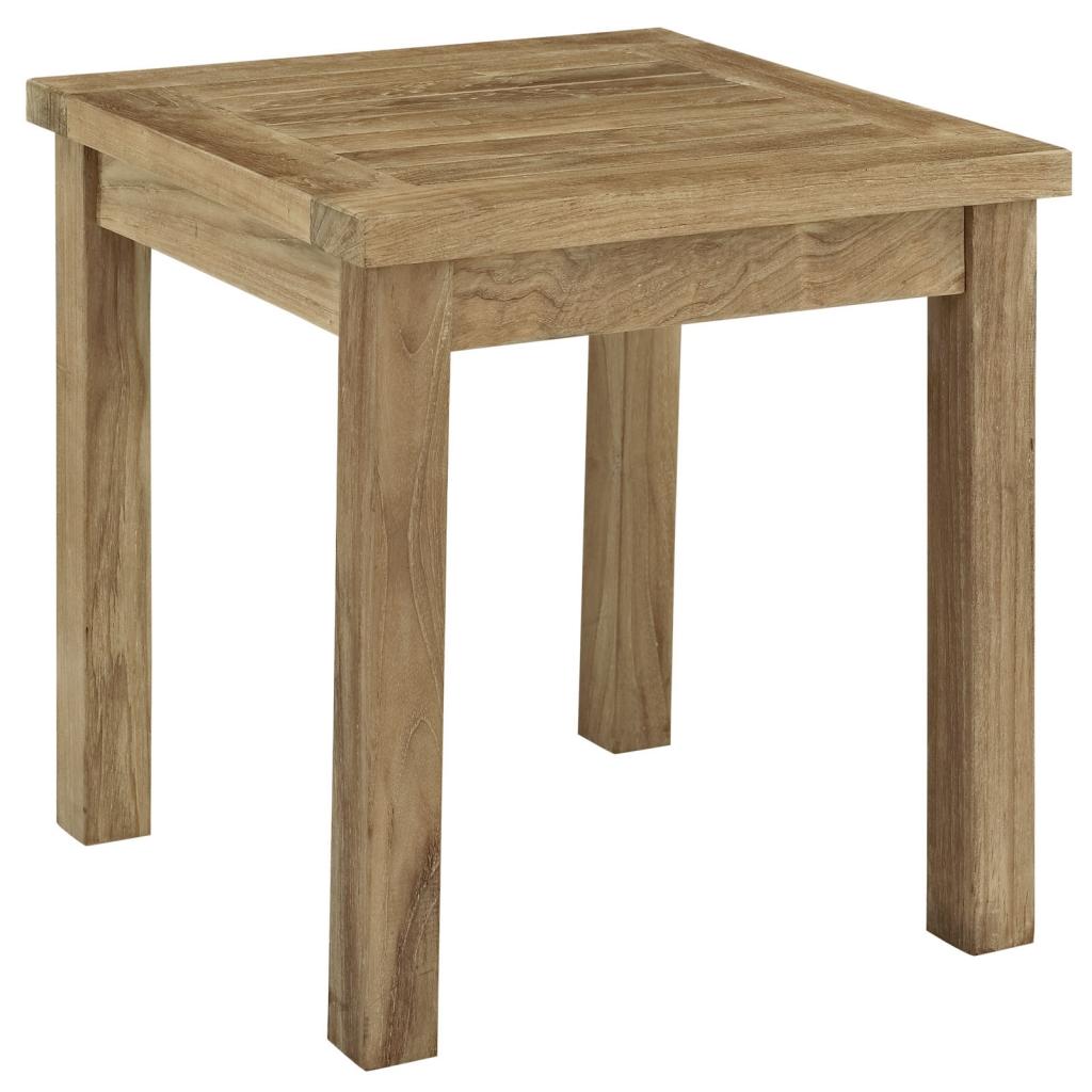 Teak Side Table 1