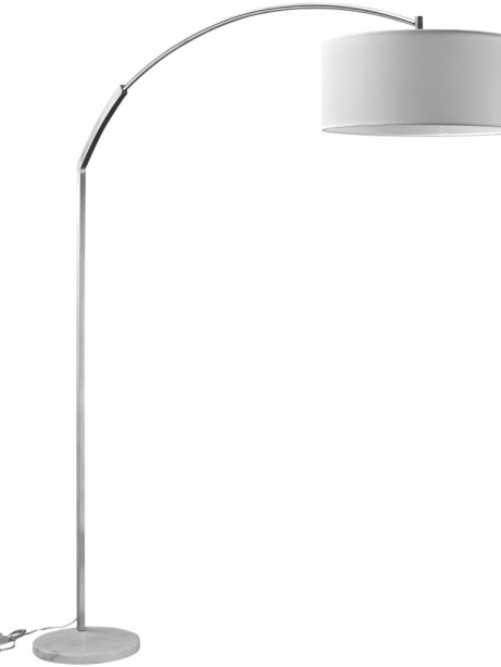 White Marble Extend Floor Lamp 461x614