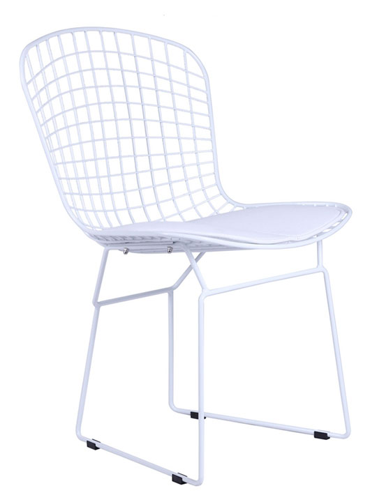 White Wire Dyson Chair