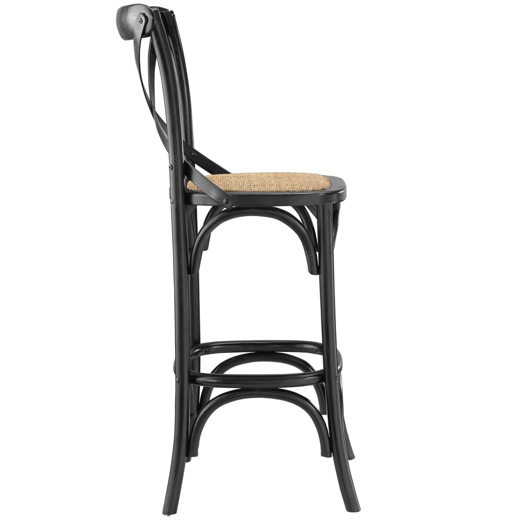 x wood barstool brickell collection modern furniture store. Black Bedroom Furniture Sets. Home Design Ideas