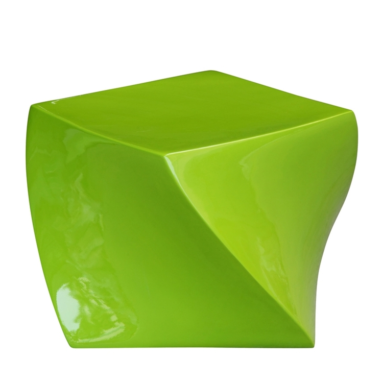 green geo stool 2