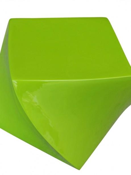 green geo stool 461x614