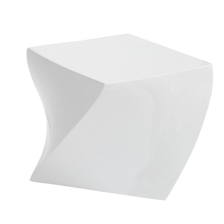 white geo stool 3