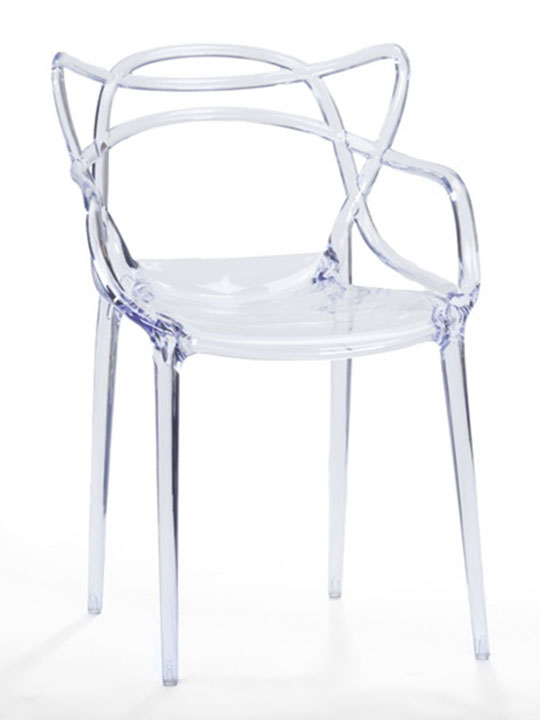 Clear Spark Chair  sc 1 st  Brickell Collection & Spark Clear Chair | Modern Furniture u2022 Brickell Collection