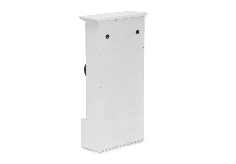 Mirror Wall Cabinet White 4