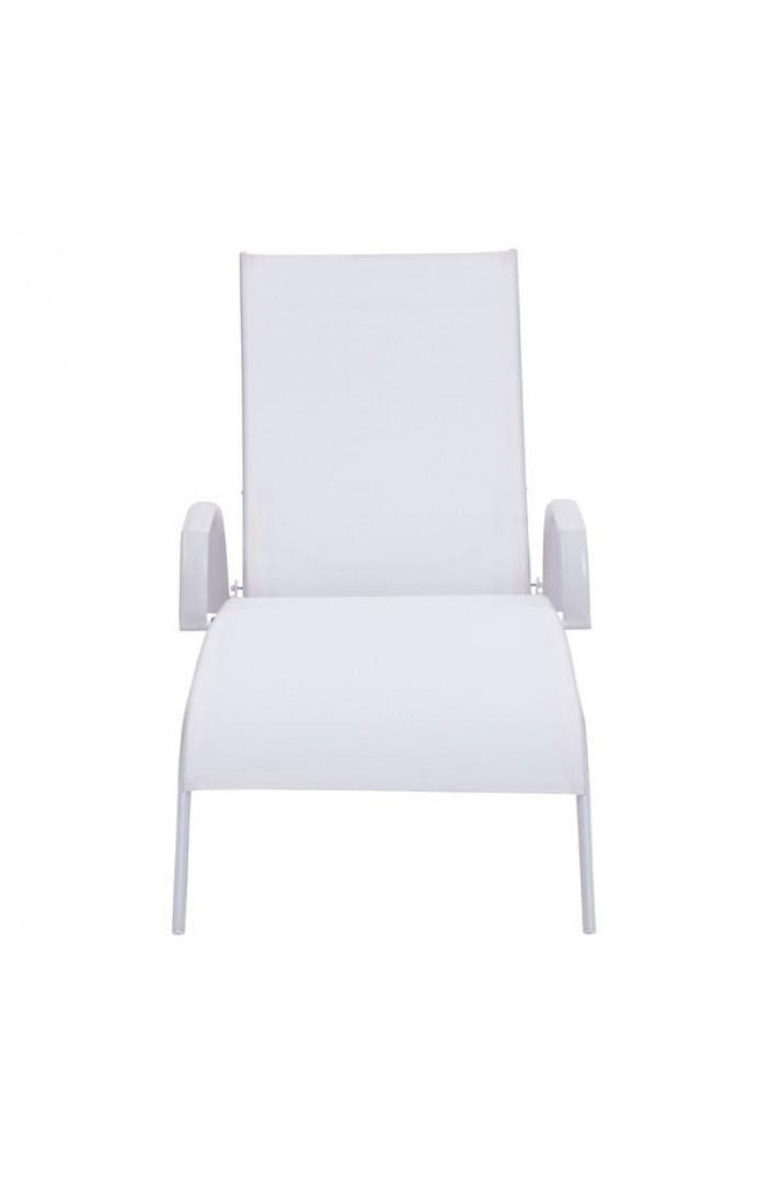 St barths lounge chair white