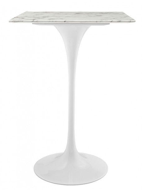 White Marble Square Bar Table 461x614