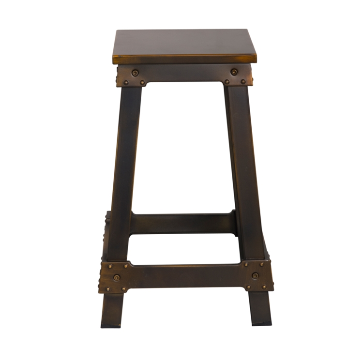 counter stool copper