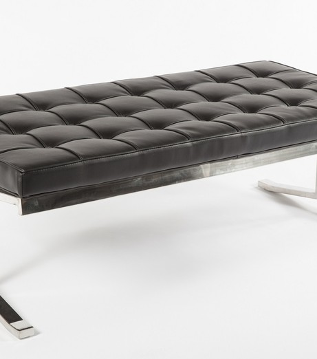 modern lounge black statement bench 2 461x522