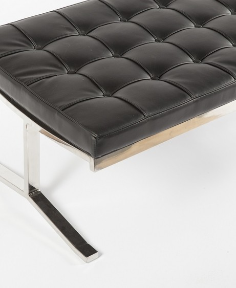 modern lounge black statement bench 461x563