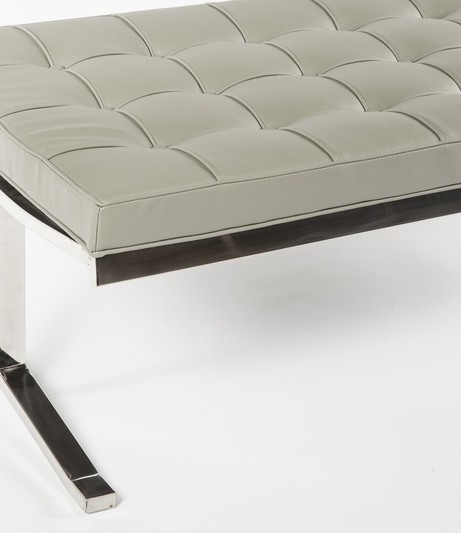 modern lounge gray statement bench 3 461x533