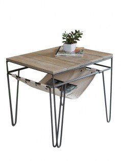 Canvas Wood Side Table 237x315