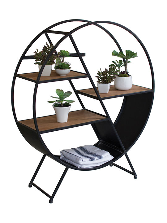 Circular Shelf Unit