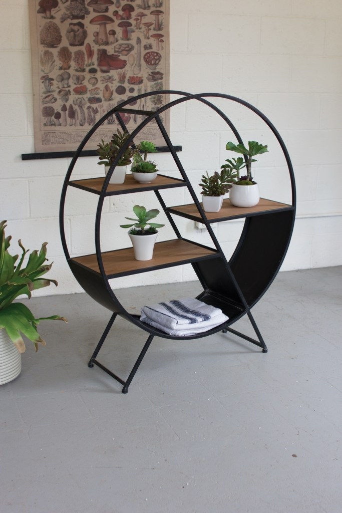 Circular Shelving Unit