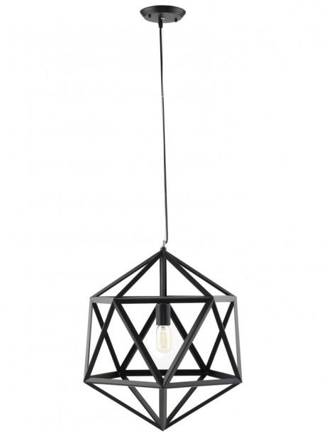 Hexagon Black Metal Chandelier 1 461x614