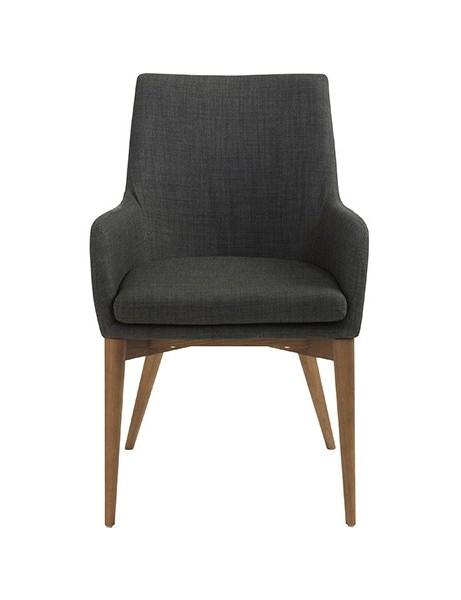 Uptown Armchair Dark Gray 461x600
