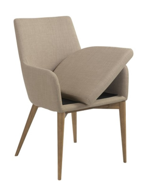 Uptown Armchair Taupe 5 461x600