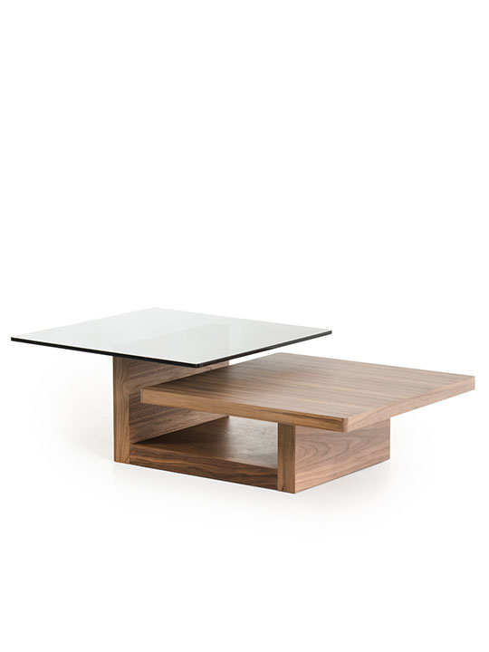 Wood Balance Coffee Table