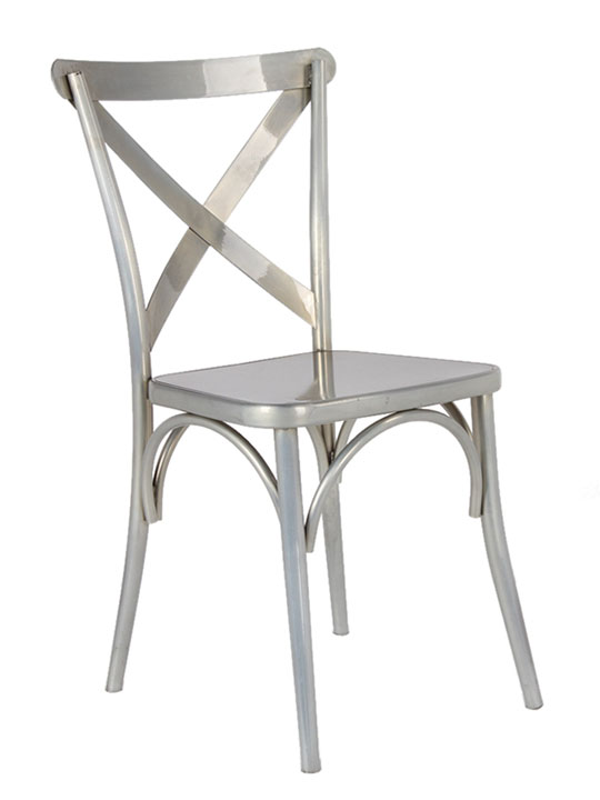 X Metal Chair