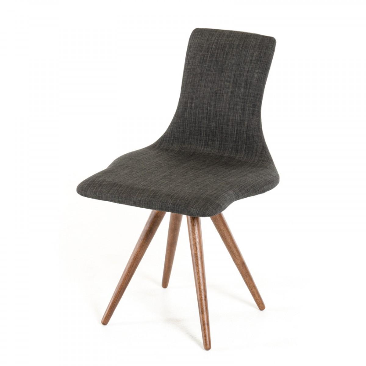 jetson mid century gray fabric chair 2