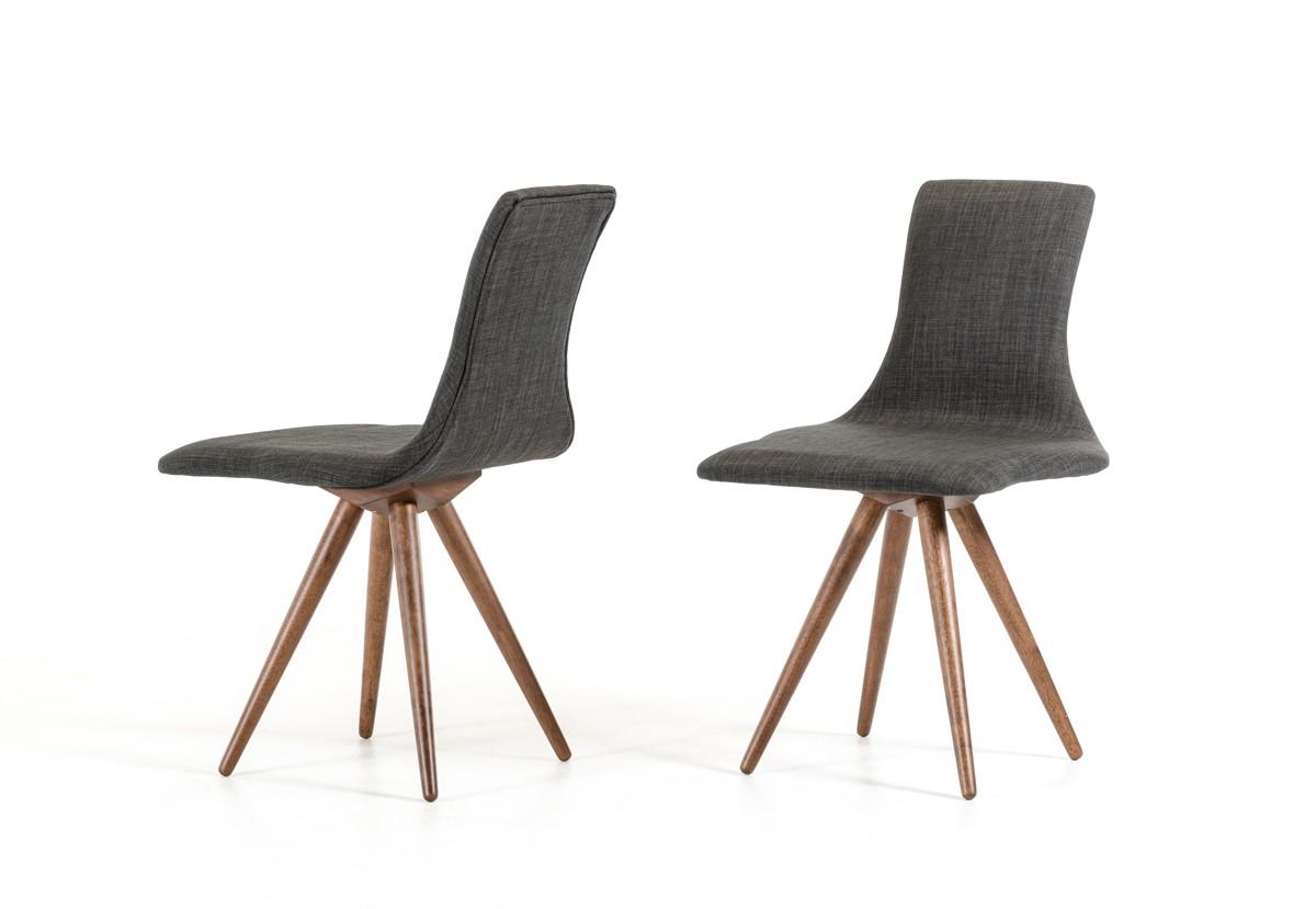 jetson mid century gray fabric chair 3