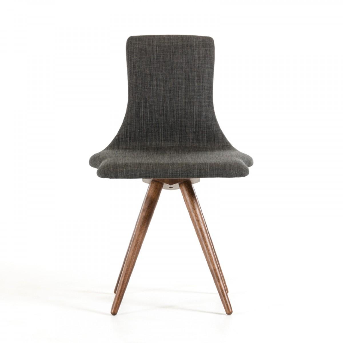 jetson mid century gray fabric chair 5