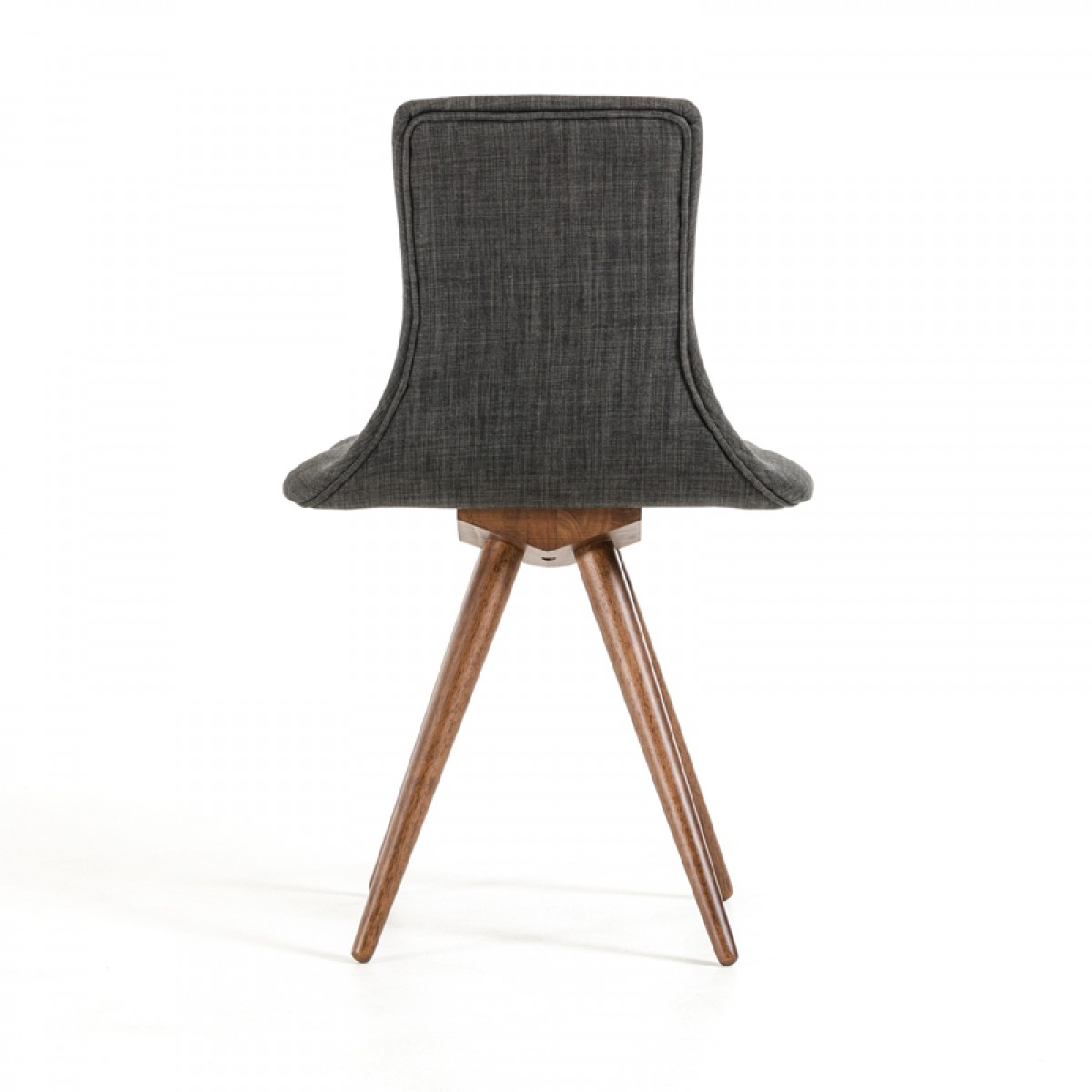 Genial Jetson Mid Century Gray Fabric Chair 6