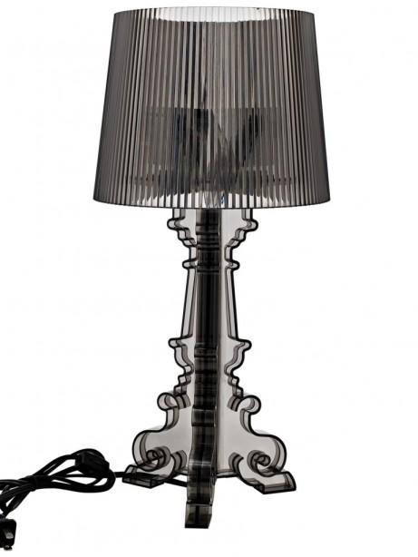 Black Acrylic Table Lamp Medium 461x614
