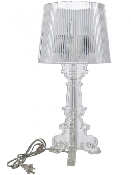 Clear Acrylic Table Lamp Medium 461x614