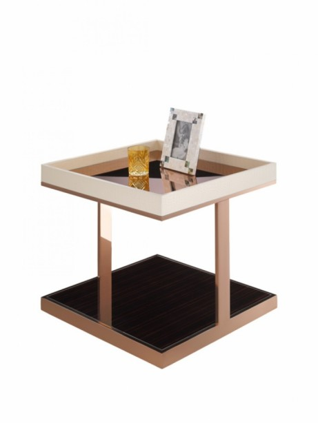 Faceted Rose Gold Side Table1 461x614