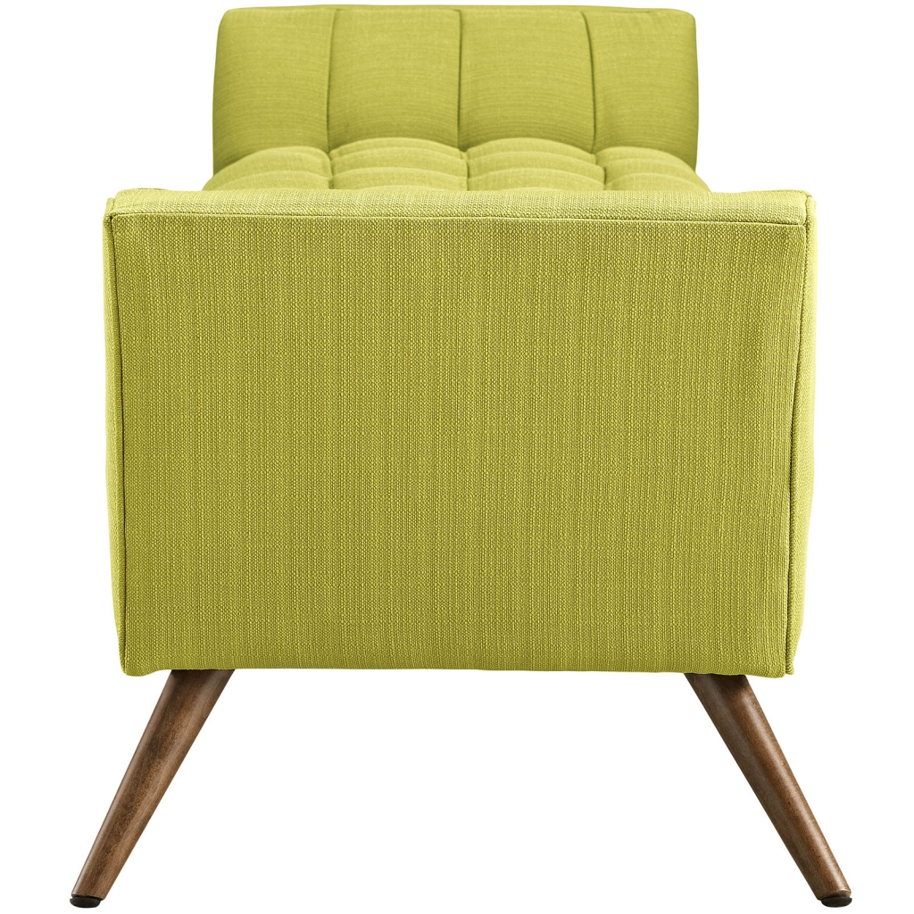 Lime Green Hued Bench Large 2