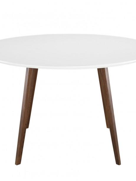 Metro White Walnut Wood Dining Table 2 461x614