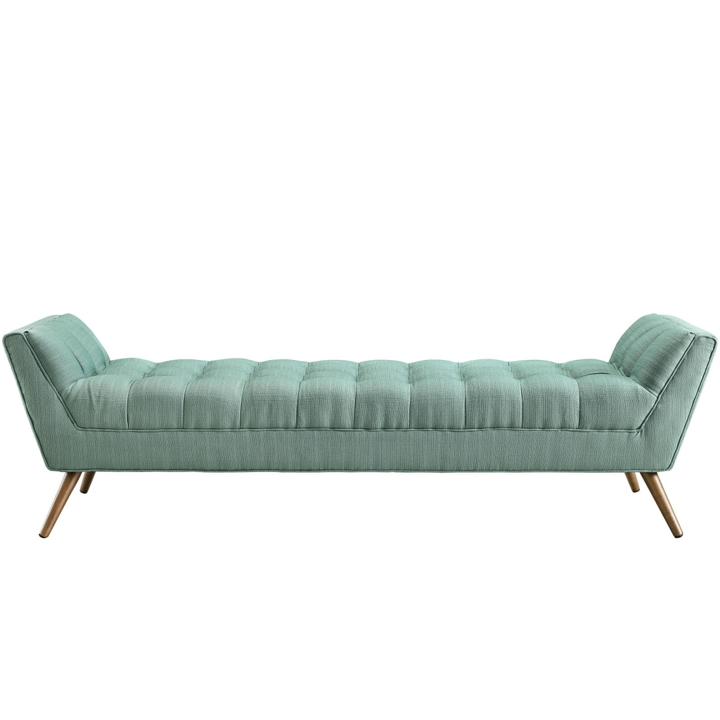 Mint Green Hued Bench Large 21