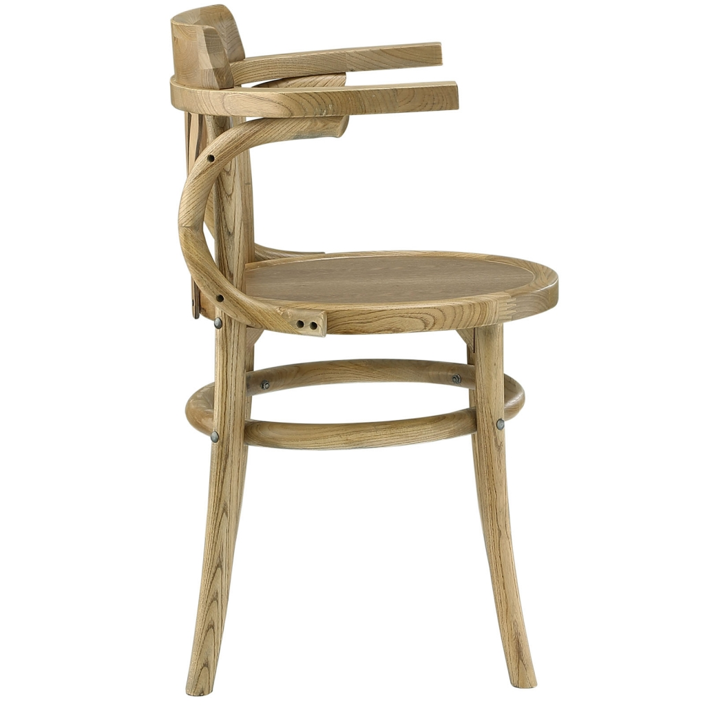 Noma Armchair Natural Wood 2