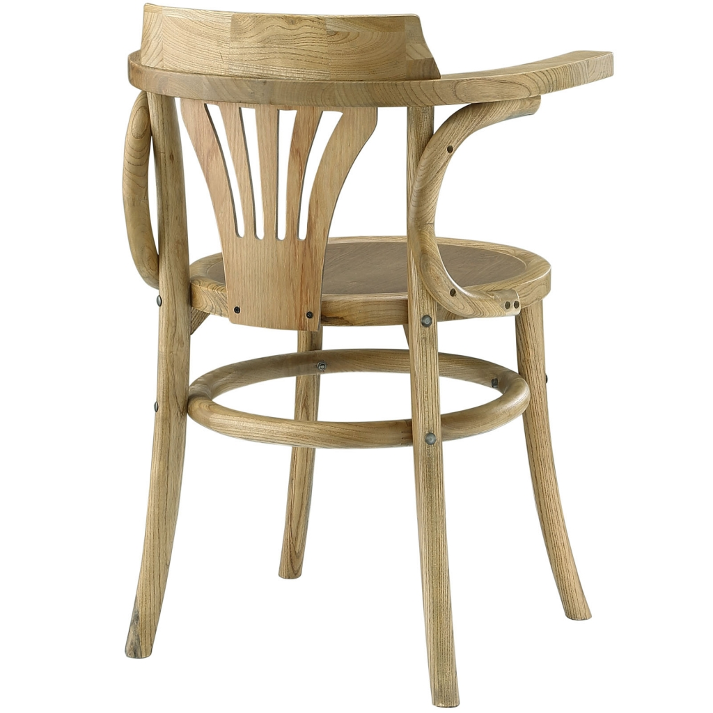 Noma Armchair Natural Wood 4