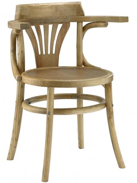 Noma Armchair Natural Wood 461x614