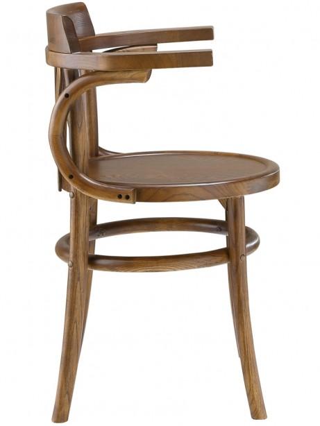 Noma Armchair Walnut Wood 1 461x614
