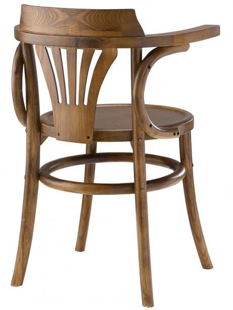 Noma Armchair Walnut Wood 2 461x614