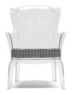 Phantom Clear Accent Chair 237x315