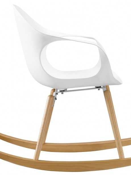 Pony White Rocking Chair 2 461x614