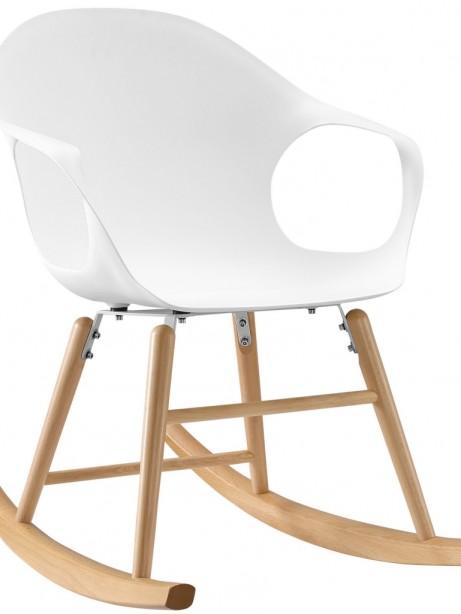 Pony White Rocking Chair 461x614