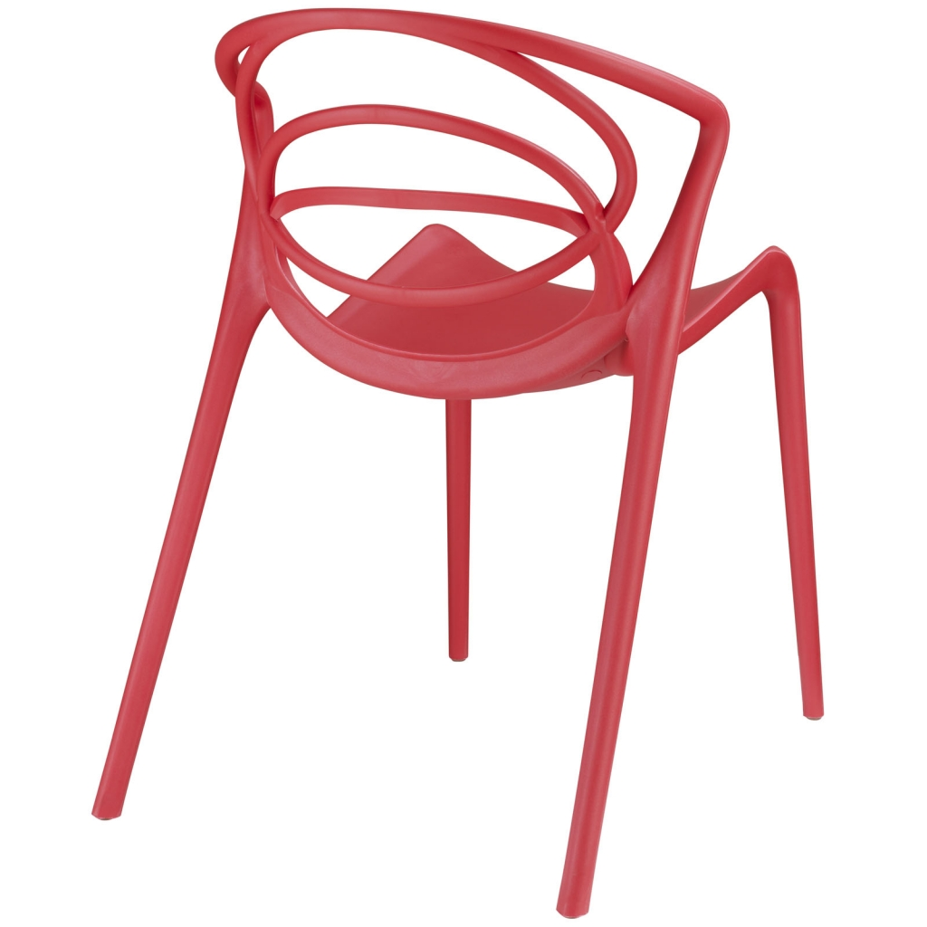Ring Chair Red 3