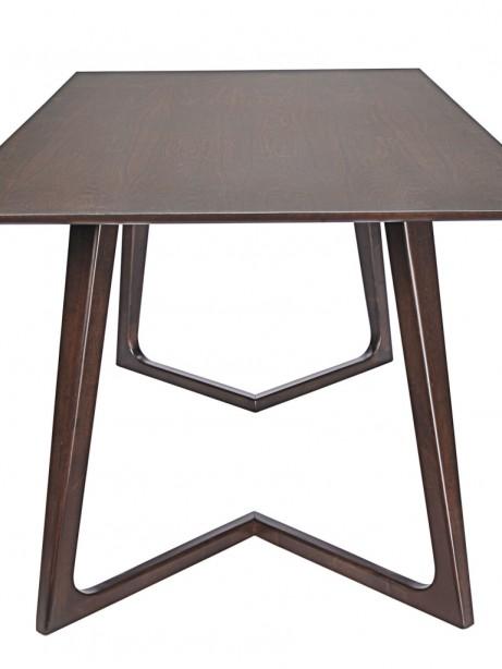 Sherwood Walnut Wood Dining Table 2 461x614