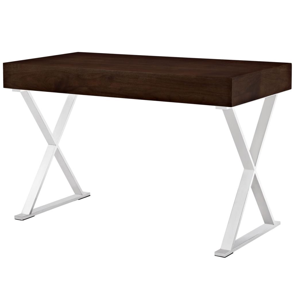 Walnut Glam Desk 3