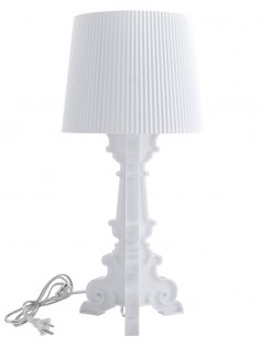 White Acrylic Table Lamp 237x315